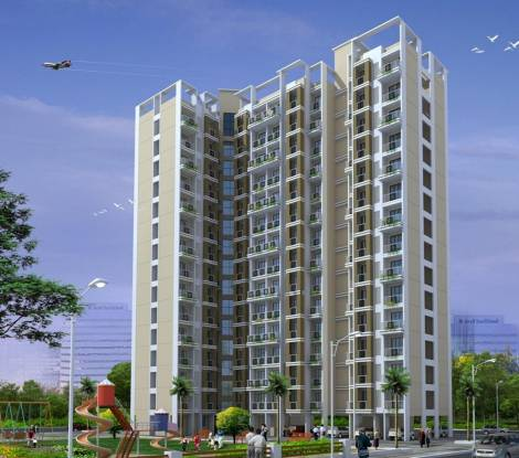 KM Narmada Mohan Apartment Elevation