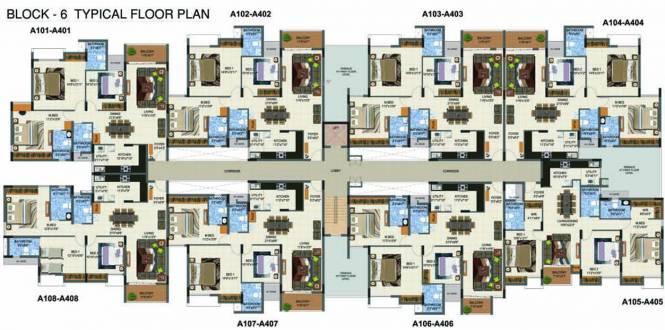 Casagrand Supremus Cluster Plan