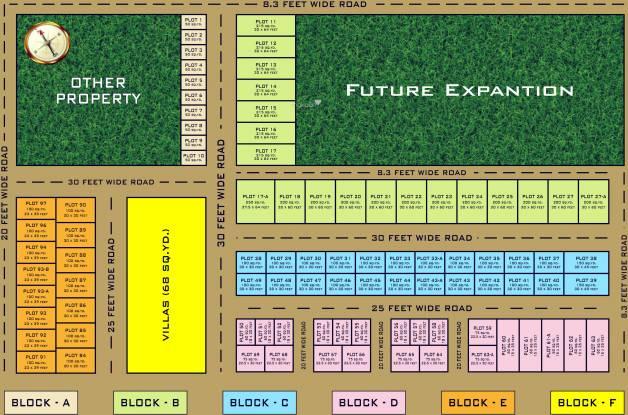 Siddhartham Mansion Layout Plan