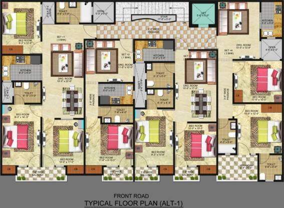 Freedom Homes Freedom Homes Cluster Plan