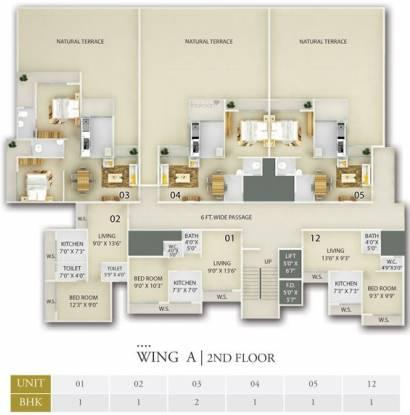 Unimont Empire Cluster Plan