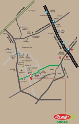 Satyajeet Sopan Location Plan