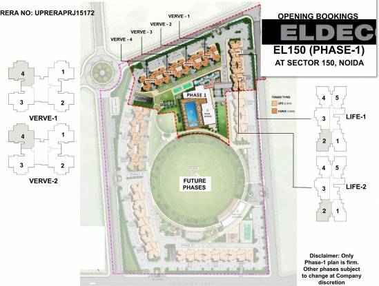 Eldeco Live By The Greens Layout Plan