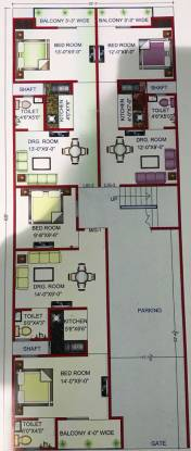 Wish Home Apartment Cluster Plan