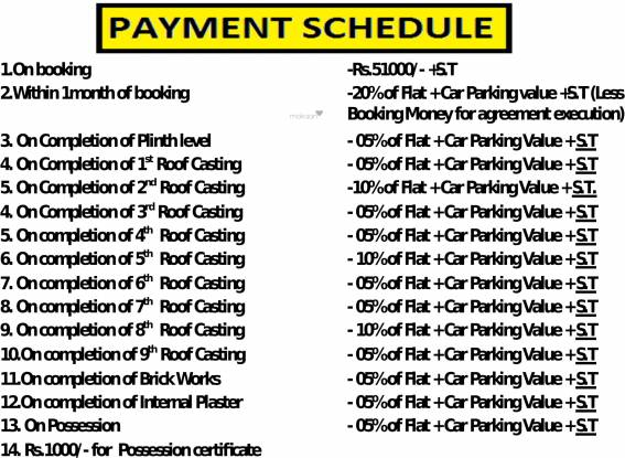 Aranyak Banabithi Payment Plan