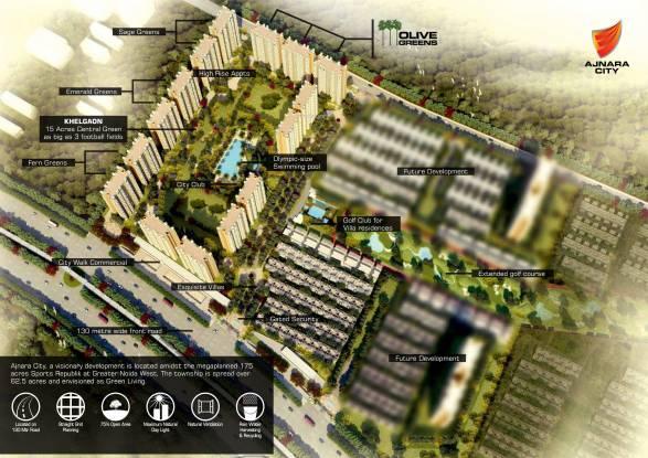 Ajnara Olive Greens Elevation