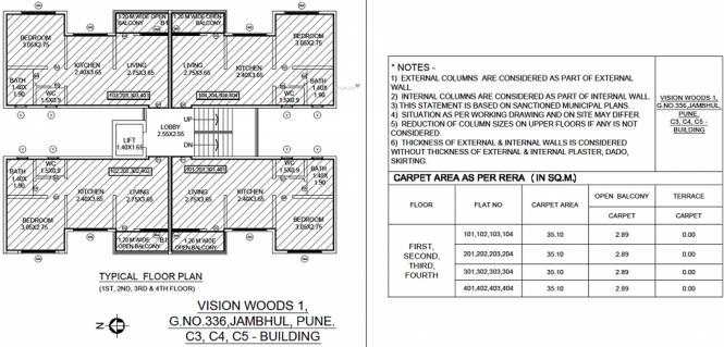 Siddhivinayak Vision Woods 1 Phase III Cluster Plan