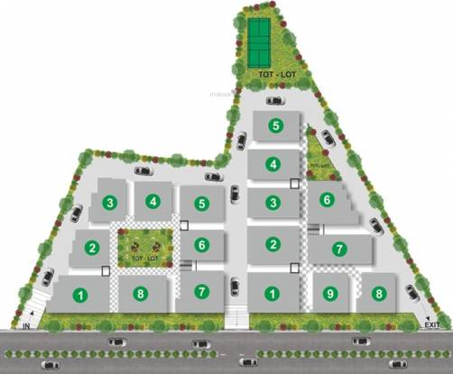Utkarsha Abodes Layout Plan