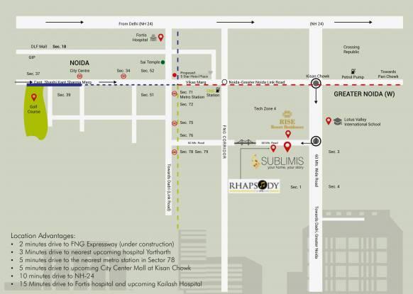 CRC Sublimis Location Plan