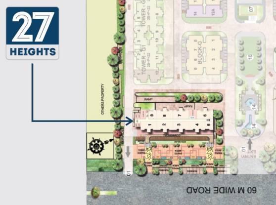 Supertech 27 Heights Layout Plan