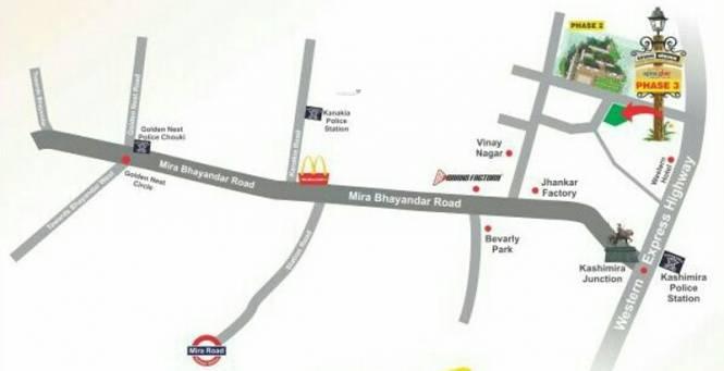 Seven Eleven Apna Ghar Phase III Location Plan