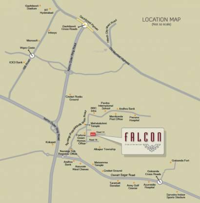 Fortune Green Falcon Location Plan