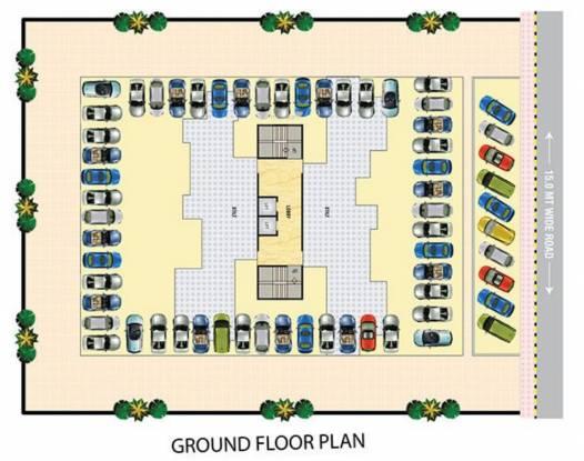Pradhan Heights Cluster Plan