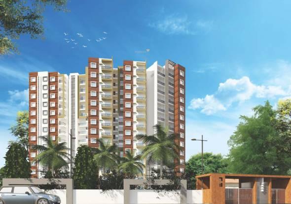 Sai Vrushabadri Towers Elevation