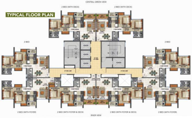 Lodha Codename Unbelievable Cluster Plan
