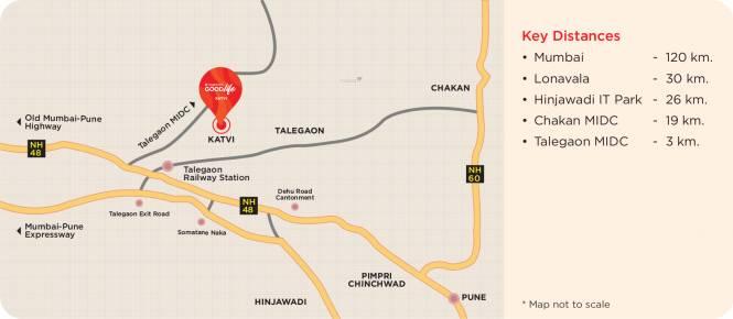 Vascon Goodlife Phase A Location Plan