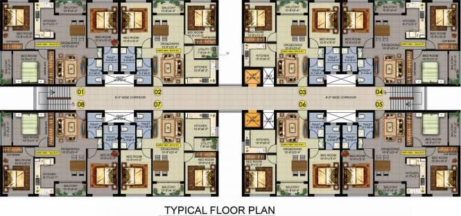 Evos Paradise Cluster Plan