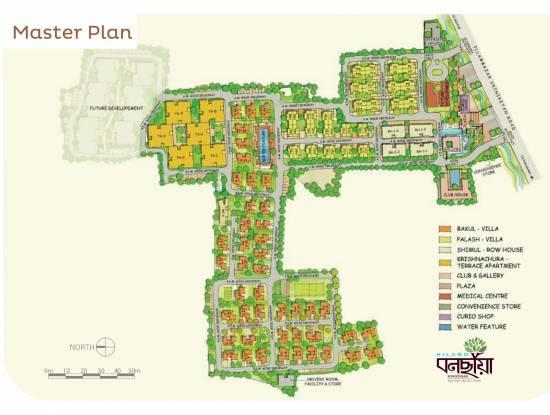Hiland Bonochhaya Apartment Master Plan