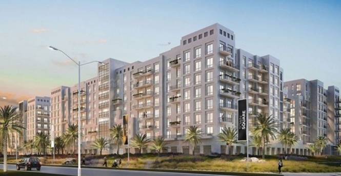 Nshama Zahra Apartments Town Square Elevation