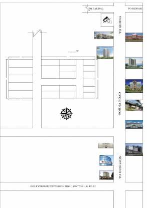 Parmanad Vaishnao Enclave Location Plan