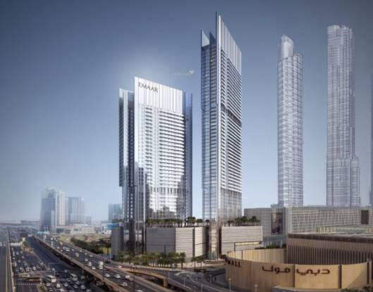 Emaar Vida Residences Dubai Mall Elevation