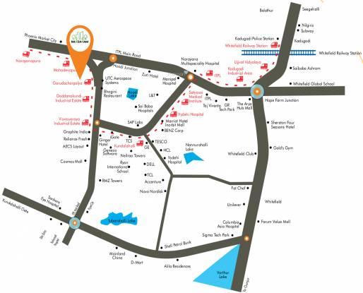 Sumadhura Nandanam Location Plan