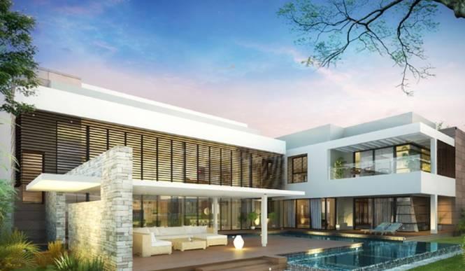 Sobha Hartland Villas Elevation