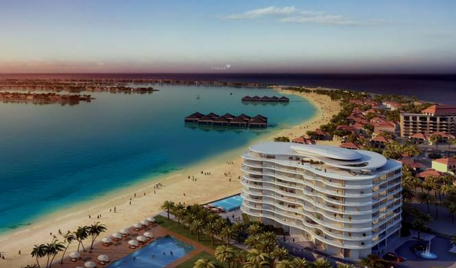 Azizi Royal Bay Palm Jumeirah Elevation
