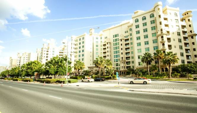 Nakheel Shoreline Apartments Elevation