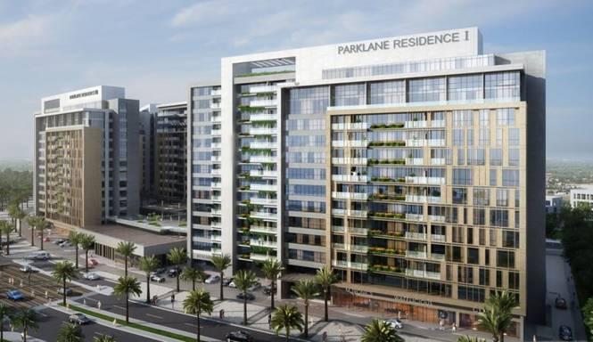 Dubai Park Lane Residence Elevation