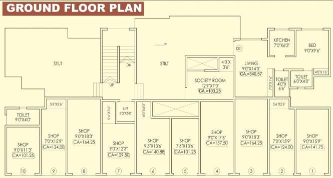 Ananta Adore Garden Cluster Plan