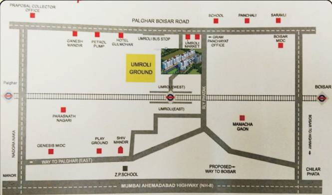 Ananta Adore Garden Location Plan