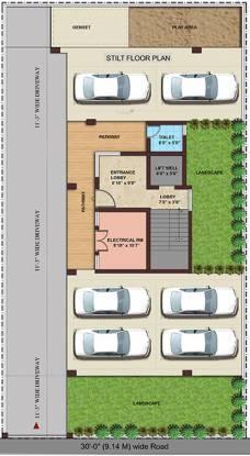 Kgeyes Mahalingapuram Cluster Plan