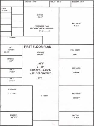 Madhumita Sarada Bhawan Cluster Plan