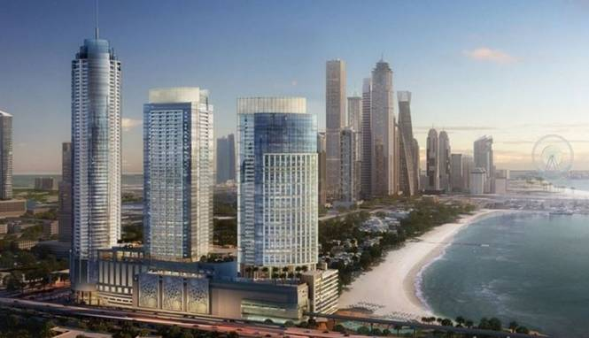 Nakheel Palm Gateway Elevation