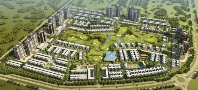 Godrej Park Avenue at Godrej Golf Link Layout Plan