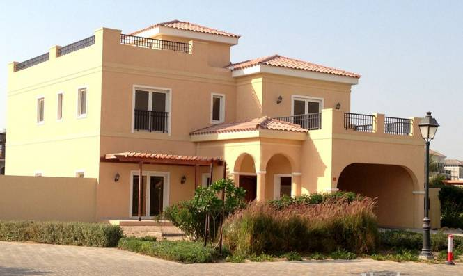 Al Mazaya Mazaya Villas Elevation