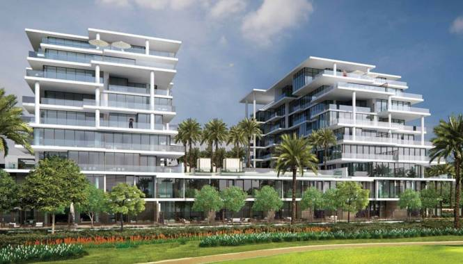 Damac NAIA Golf Veduta Elevation
