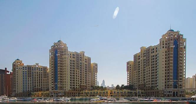 Nakheel Marina Residence Palm Elevation