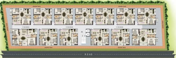 Sai Mounika Park Vesta Cluster Plan