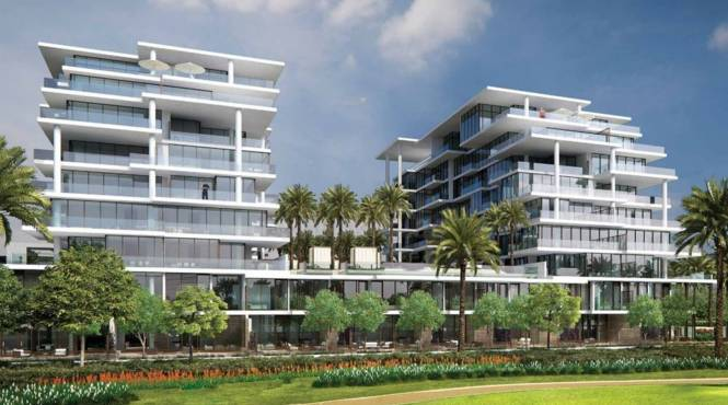 Damac NAIA Golf Terrace Elevation