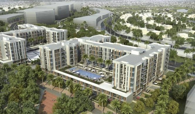 Dubai Mudon Views Elevation