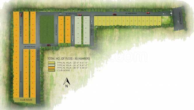 United Sunshine Signature Layout Plan
