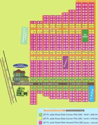 Shibsrijan Budge Budge Newtown Layout Plan