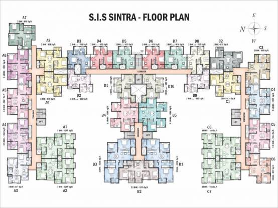 South India Sintra Cluster Plan