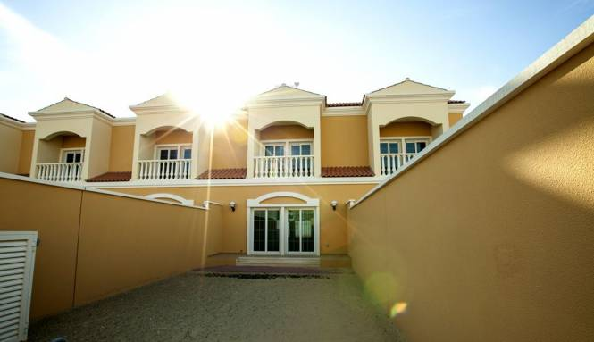 Nakheel JVC Nakheel 1 Bedroom Townhouses Elevation