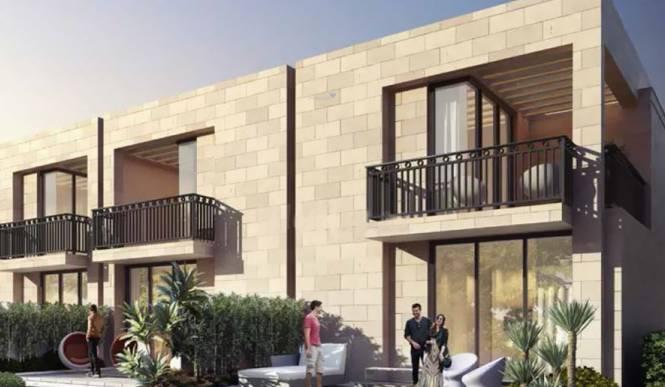 Damac Hajr Stone Villas by Damac Elevation