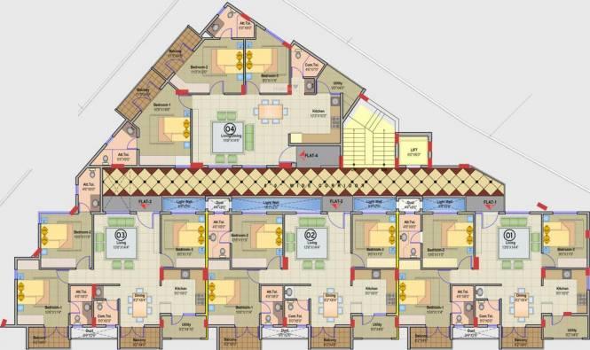 JR Suvarna Cluster Plan