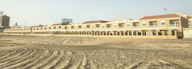 Nakheel JVC 2 Bedroom Townhouses Elevation