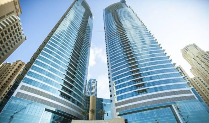 Al Fattan Properties LLC Al Fattan Marine Towers Elevation